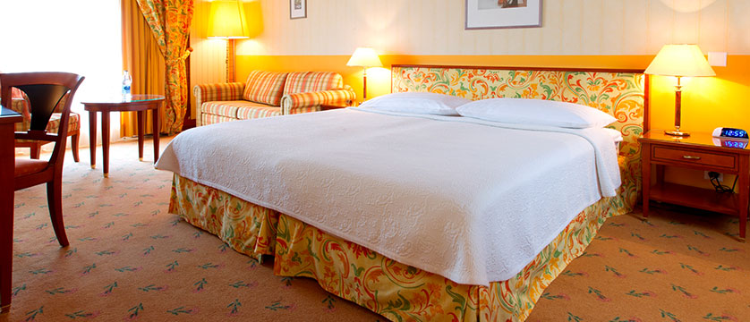 Hotel Silberhorn, Wengen, Bernese Oberland, Switzerland - double bedroom with Jungfrau view.jpg
